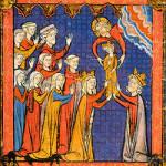 """Geboorte van """"Godsgift"""" Filips II"""